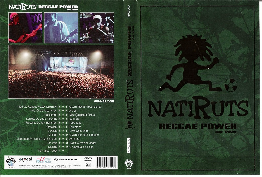 POWER BAIXAR NATIRUTS MP3 REGGAE CD